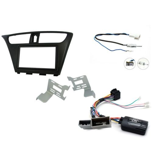 Connects2 Car Stereo Fitting Kit Double DIN Facia Radio Installation For Honda - CTKHD06L