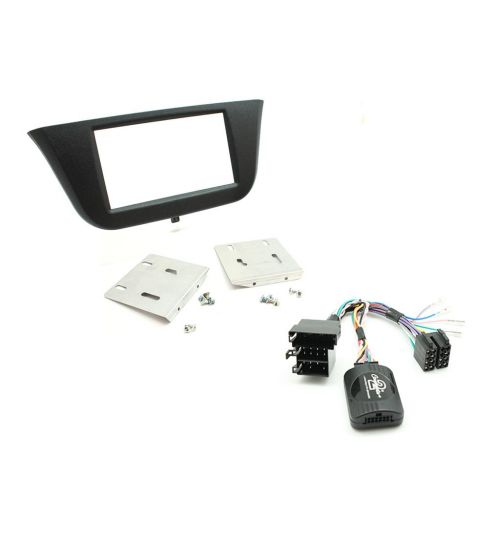 Connects2 Car Stereo Fitting Kit Double DIN Facia Radio Installation For Iveco - CTKIV01