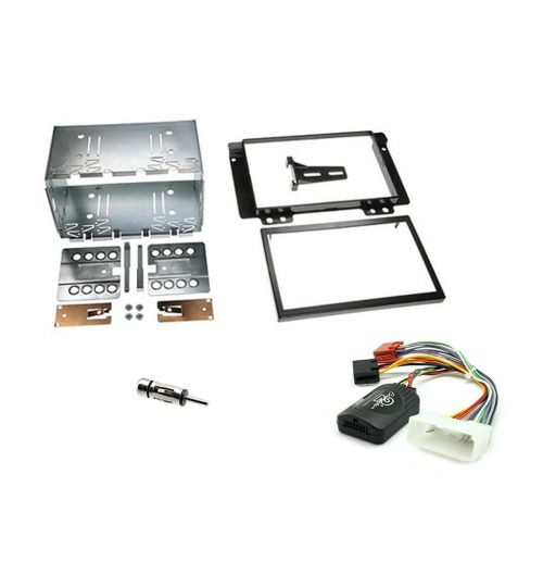 Connects2 Car Stereo Fitting Kit Double DIN Facia Radio Installation For Land Rover - CTKLR02