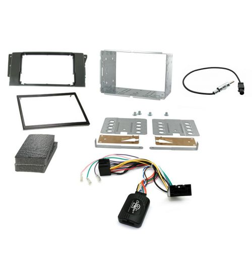Connects2 Car Stereo Fitting Kit Double DIN Facia Radio Installation For Land Rover - CTKLR03