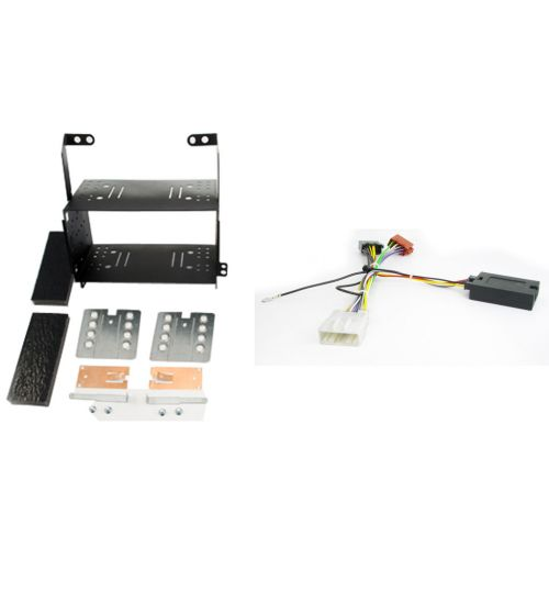 Connects2 Car Stereo Fitting Kit Double DIN Facia Radio Installation For Nissan - CTKNS01