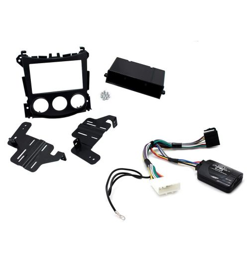 Connects2 Car Stereo Fitting Kit Single / Double DIN Facia Radio Installation For Nissan - CTKNS07
