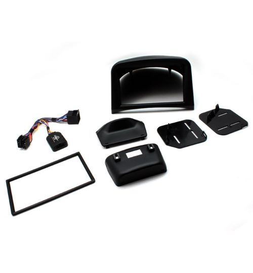 Connects2 Car Stereo Fitting Kit Double DIN Facia Radio Installation For Peugeot - CTKPE02