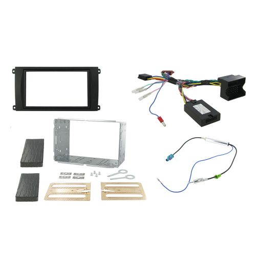 Connects2 Car Stereo Fitting Kit Double DIN Facia Radio Installation For Porsche - CTKPO01
