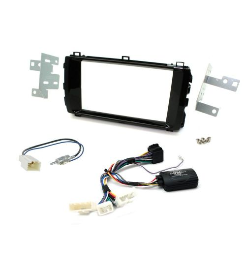 Connects2 Car Stereo Fitting Kit Double DIN Facia Radio Installation For Toyota - CTKTY08