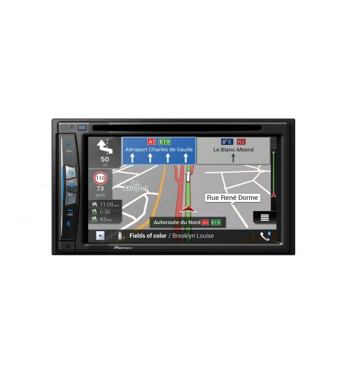 """Pioneer AVIC-Z630BT 6.2"""" Touchscreen WIFI enabled In-Car AV Entertainment System with European Navigation and Apple Carplay"""