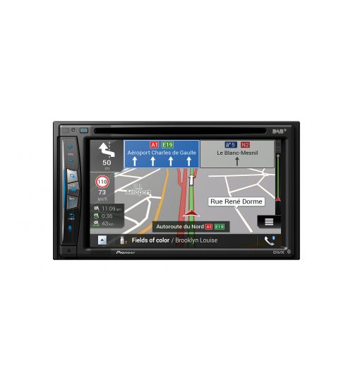 """Pioneer AVIC-Z730DAB 6.2"""" Touchscreen WIFI enabled In-Car AV Entertainment System with European Navigation DAB+ Apple Carplay"""
