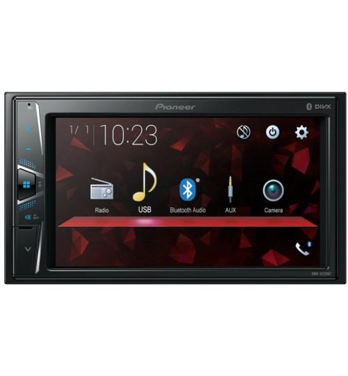 "Pioneer DMH-G220BT Double DIN 6.2"" Touchscreen Bluetooth In Car AV Entertainment System"