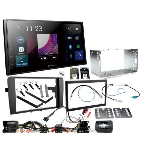 Pioneer SPH-DA250DAB AUDI A3 In Car audio Entertainment System and Fitting Kit