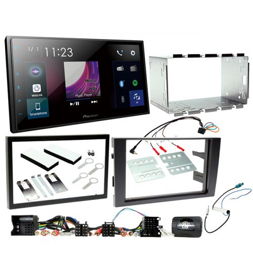 Pioneer SPH-DA250DAB AUDI A4 GEN B6  In Car audio Entertainment System and Fitting Kit