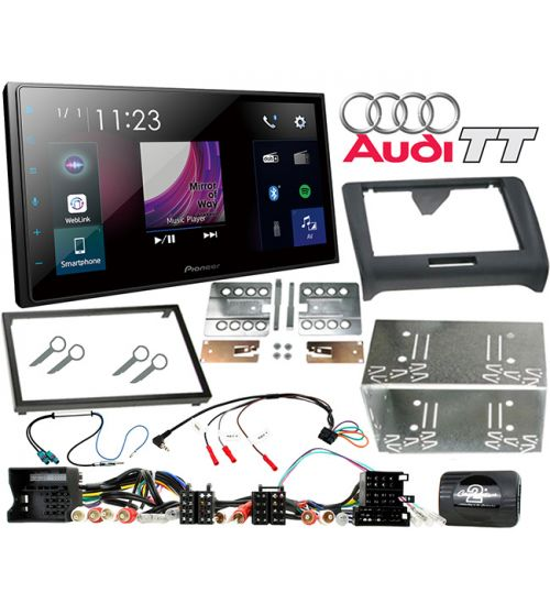 Pioneer SPH-DA250DAB AUDI TT In Car Audio Entertainment System and Fitting Kit
