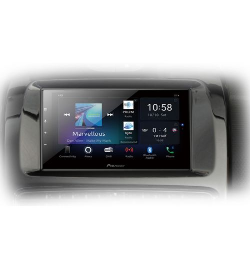 Pioneer SPH-EVO64DAB-CLIO Car Audio Entertainment System - Carplay - Android Auto