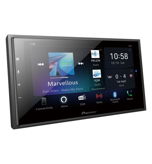 Pioneer SPH-EVO64DAB Car Audio Entertainment System - Carplay - Android Auto