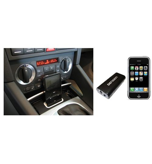 Spec.Dock + iPod Music Kit For Audi A3 (8P) ISO Connector (iPhone 6/7 Compatible)