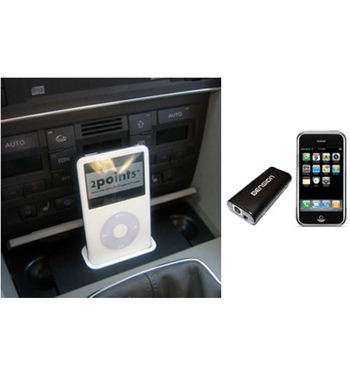 Spec.Dock iPod Music Kit For Audi A4, S4 (B6) (iPhone 6/7 Compatible)