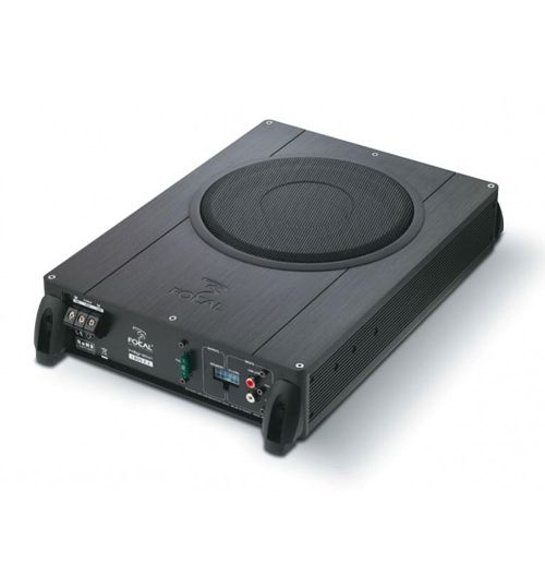 """Focal iBus 2.1 - 20cm 8"""" Under Seat Active Subwoofer, Active Bass Tube 2.1 System"""