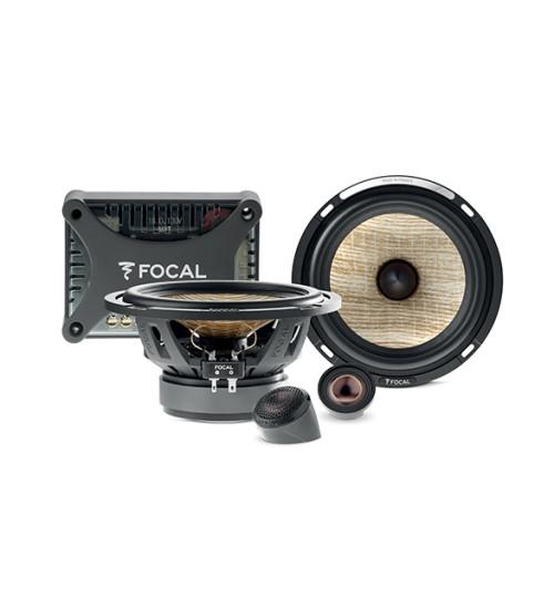 Focal PS 165 FXE - 16.5cm / 6.5'' Bi-Amplified 2-Way Component Car speaker Kit