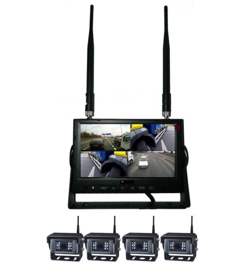 """EchoMaster Wireless Camera Kit with 7"""" monitor (can connect upto 4 cameras at once) MON-7044-WL/CAM-WL1-P"""