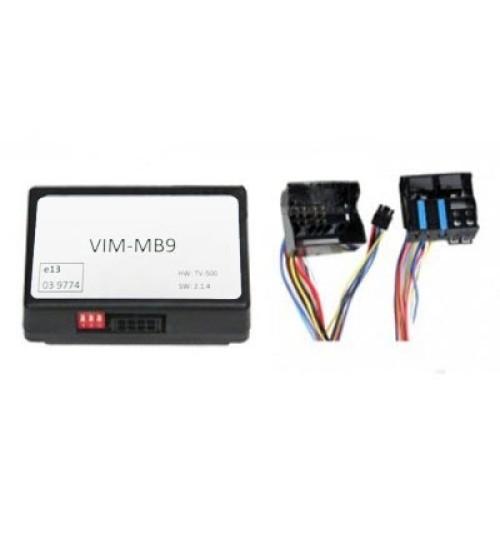 VIM-MB9 - TV-Free Switching Module Mercedes Comand Navigation NTG5 (W222 / W205 / W447)