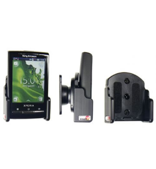 511155 Passive holder with tilt swivel for the Sony Ericsson Xperia X10 Mini