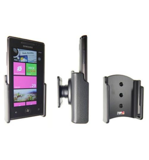 511221 Passive holder with tilt swivel for the Samsung Omnia 7