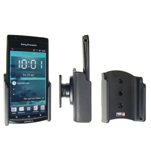 511249 Passive holder with tilt swivel for the Sony Ericsson Xperia arc, Xperia arc S
