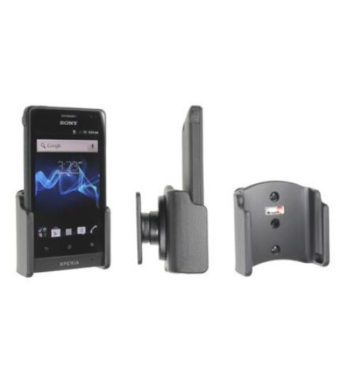 511414 Passive holder with tilt swivel for the Sony Xperia Go