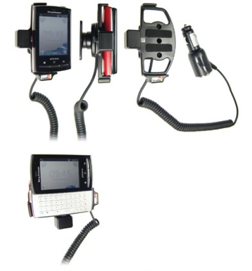 512171 Active holder with cig-plug for the Sony Ericsson Xperia X10 Mini Pro