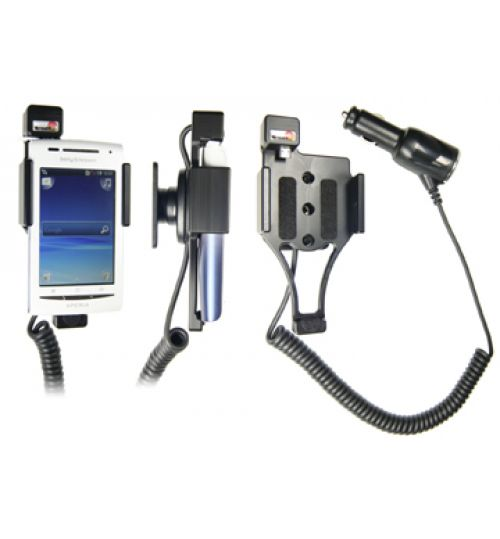 512206 Active holder with cig-plug for the Sony Ericsson Xperia X8