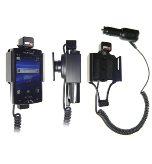 512281 Active holder with cig-plug for the Sony Ericsson Xperia Mini Pro