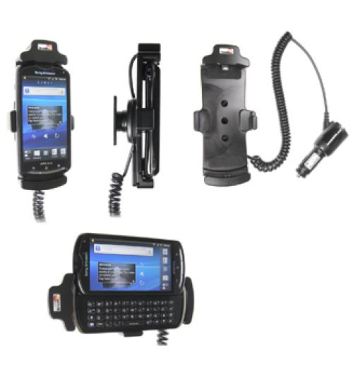 512323 Active holder with cig-plug for the Sony Ericsson Xperia Pro