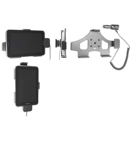 512381 Active holder with cig-plug for the Samsung Galaxy Tab 2 7.0 GT-P3100, Galaxy Tab 7.0 Plus GT-P6200