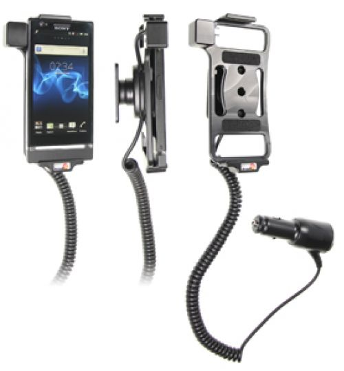 512406 Active holder with cig-plug for the Sony Ericsson Xperia P