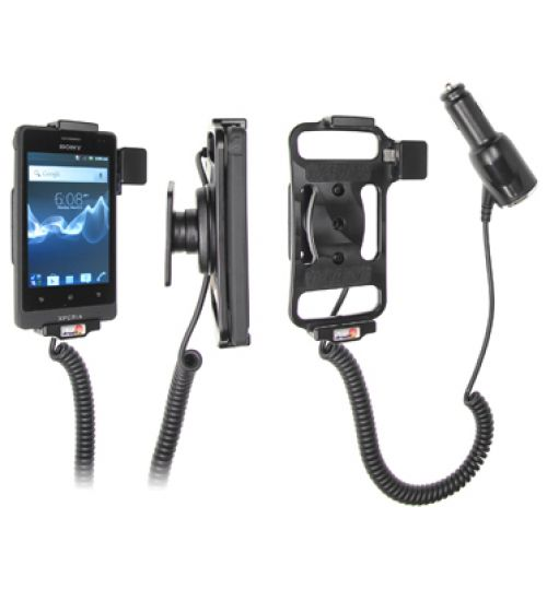 512414 Active Holder with Cig-Plug for the Sony Xperia Go