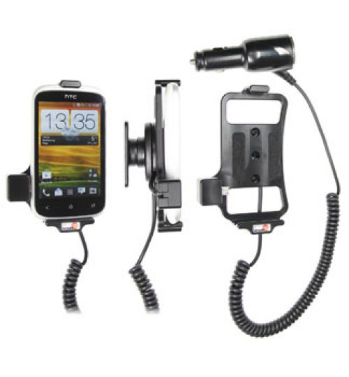 512420 Active holder with cig-plug for the HTC Desire C