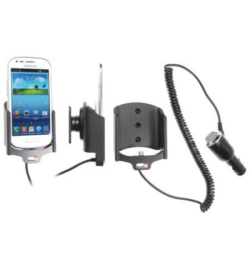 512466 Active holder with cig-plug for the Samsung Galaxy S III Mini GT-i8190
