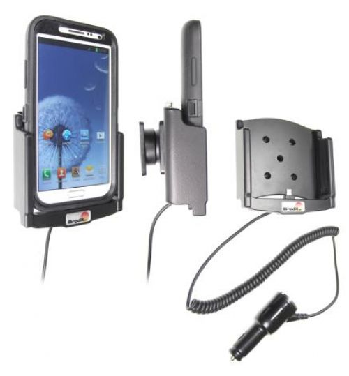 512467 Active holder with cig-plug for the Samsung Galaxy Note II GT-N7100