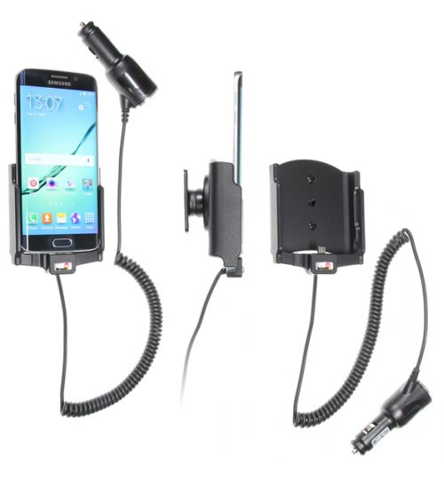 512731 Active holder with cig-plug for the Samsung Galaxy S6 Edge