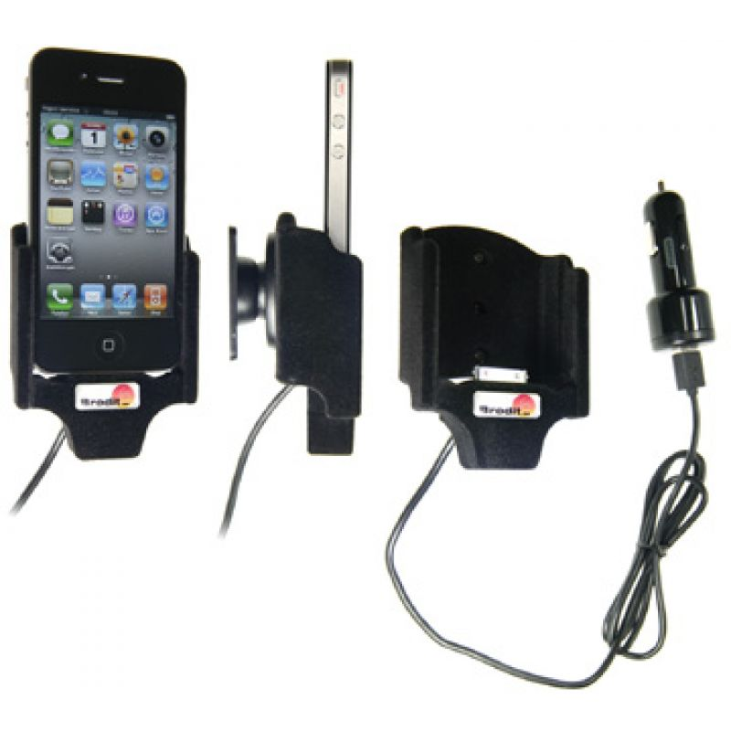 521164 active holder with cig plug for the apple iphone 4 4s. Black Bedroom Furniture Sets. Home Design Ideas