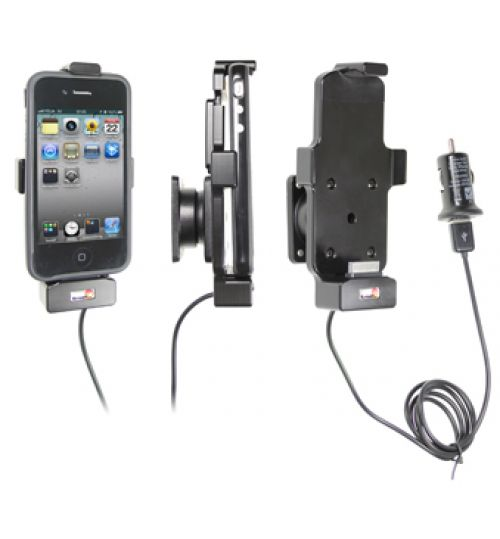 521410 Active holder with cig-plug for the Apple iPhone 3G/3GS, iPhone 4/4S, iPod Touch