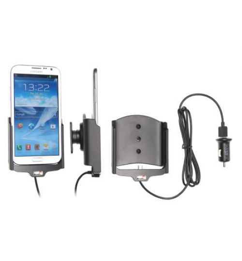 521432 Active holder with cig-plug for the Samsung Galaxy Note II GT-N7100