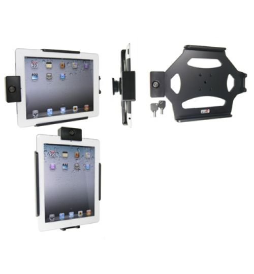 539244 Holder with lock for the Apple iPad 2, 3rd Gen, 4th Gen, iPad New with Retina Lightning Connector