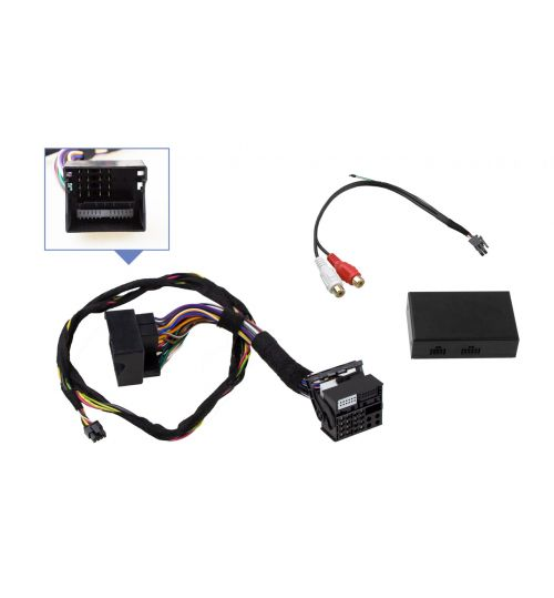 AUX, A2DP Bluetooth Plug and Play Music Receiver for VW and Skoda - 44370