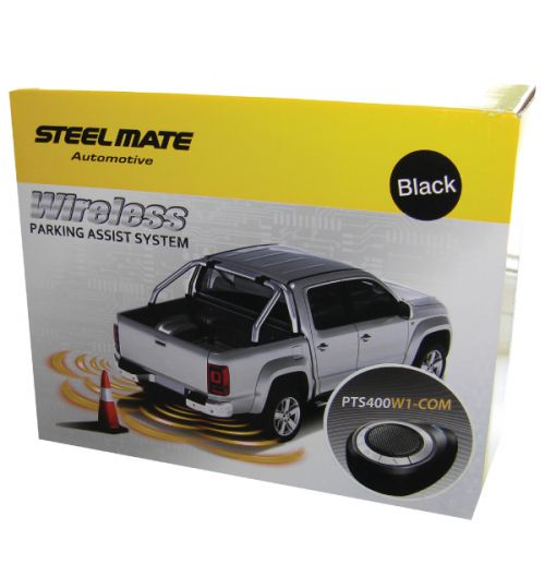 SteelMate PTS400W1(C) Matt Black Wireless Sensor