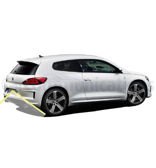 VW Scirocco (138) Facelift Rear View Camera Kit