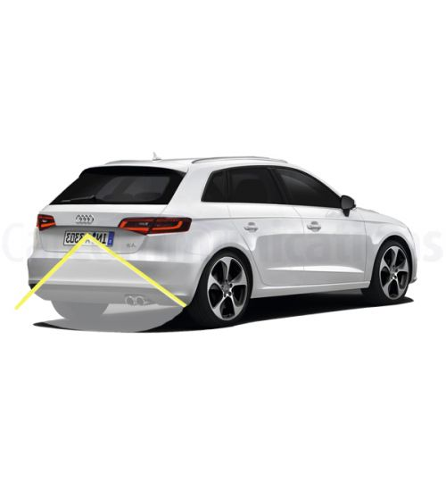 Audi A3 8V Rear View Camera Kit Highline with Moving lines - Genuine