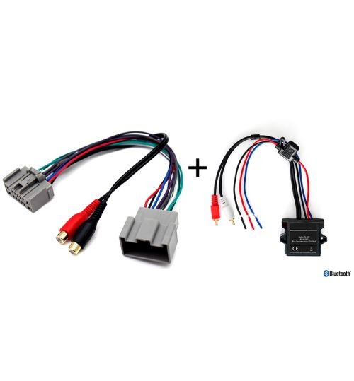 Connects2 Aux Interface & A2DP Bluetooth Adaptor For Volvo - CTVVLX002