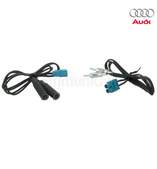 Connects2 FM Modulator Kit Antenna Adaptor For Audi - CT27FM04