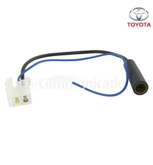 Connects2 DIN to Female Aerial Antenna Adaptor For Toyota - CT27AA93