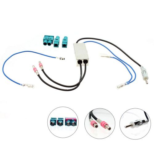 Connects2 Twin Fakra to DIN Antenna Adaptor Kit - CT27AA76